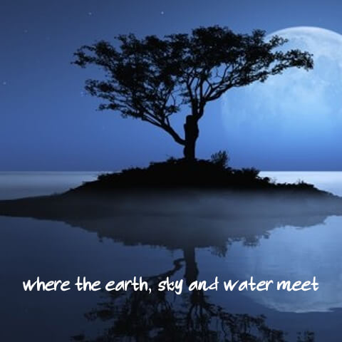 Where The Earth, Sky and Water Meet