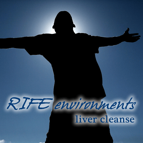 RIFE environments LIVER CLEANSE COVER
