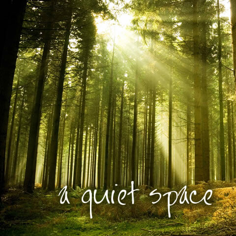 a quiet space COVER